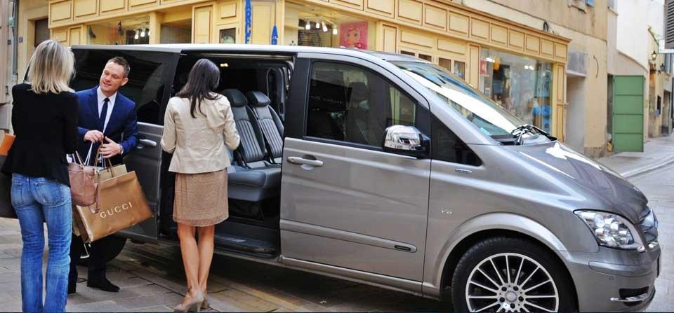Auto con autista in Francia
